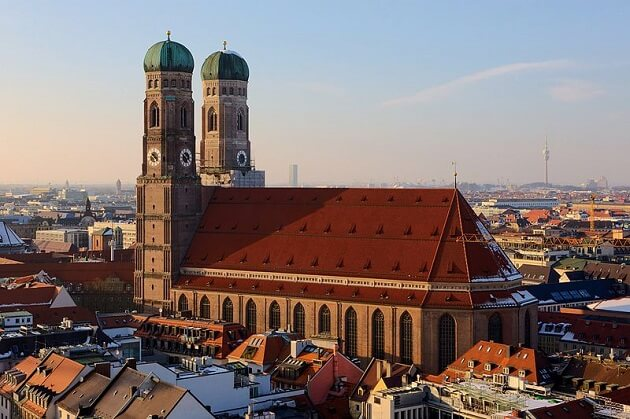Frauenkirche cathedral, best things to do in Munich