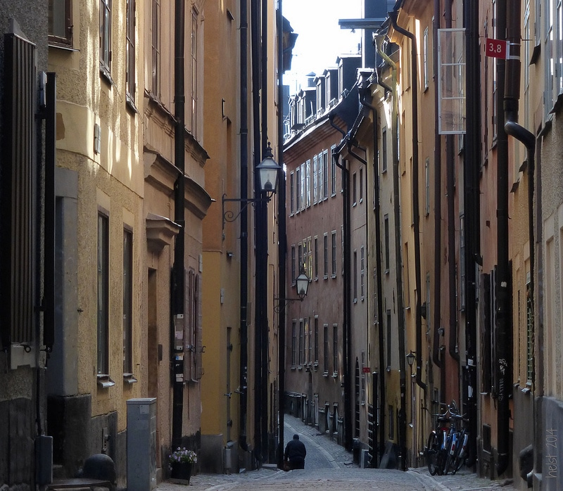 Gamla Stan, best area to stay in Stockholm