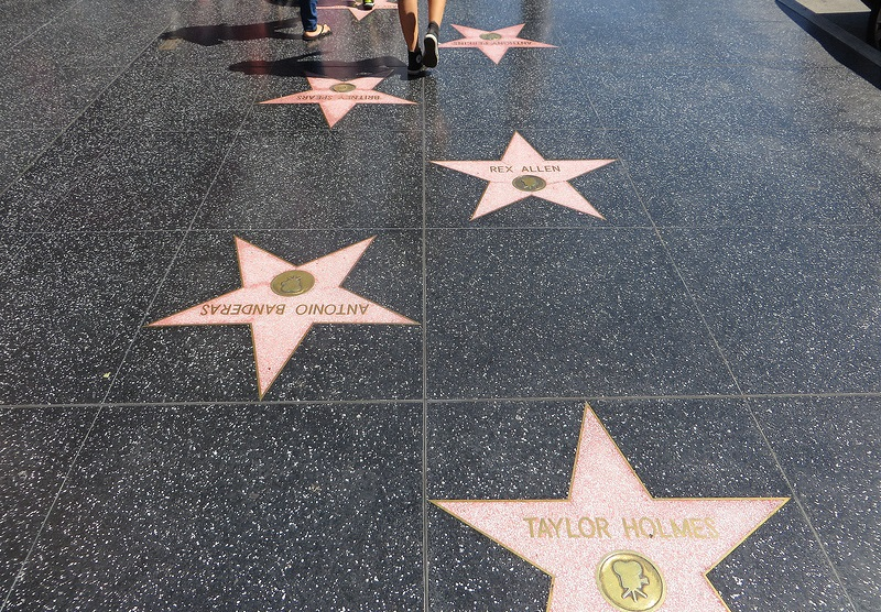 Hollywood Boulevard, Walk of Fame, Los Angeles