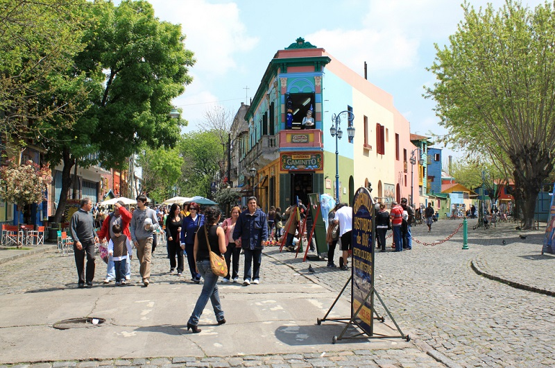 La Boca, best area to stay in Buenos Aires