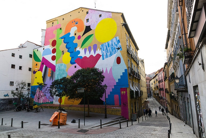 Lavapies, best area to stay in Madrid