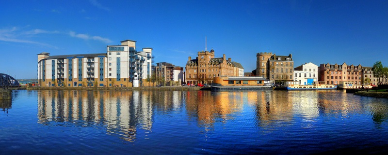 Leith, best area to stay in Edinburgh