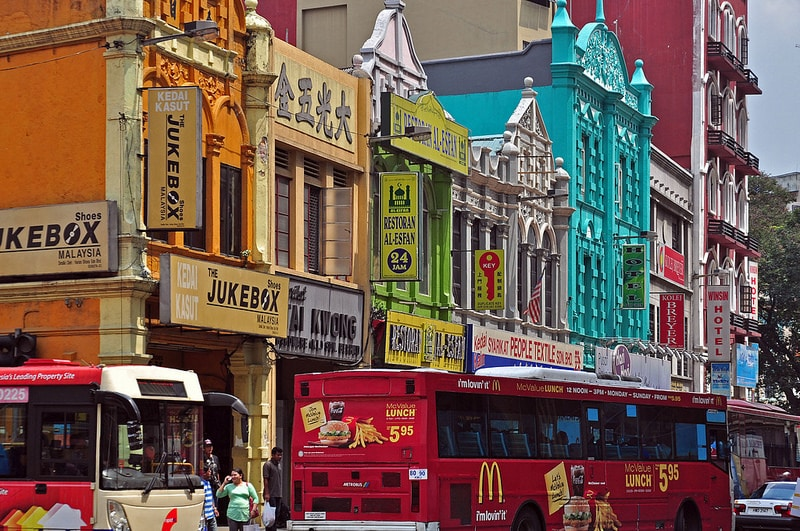Little India, best area to stay in Kuala Lumpur