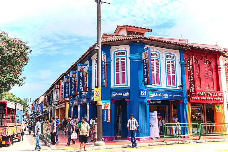 Little India, best area to stay in Singapore