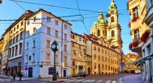 Mala Strana, best area to stay in Prague