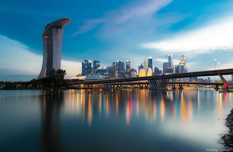 Marina Bay, best area to stay in Singapore