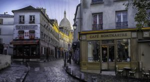 Montmartre, best area to stay in Paris