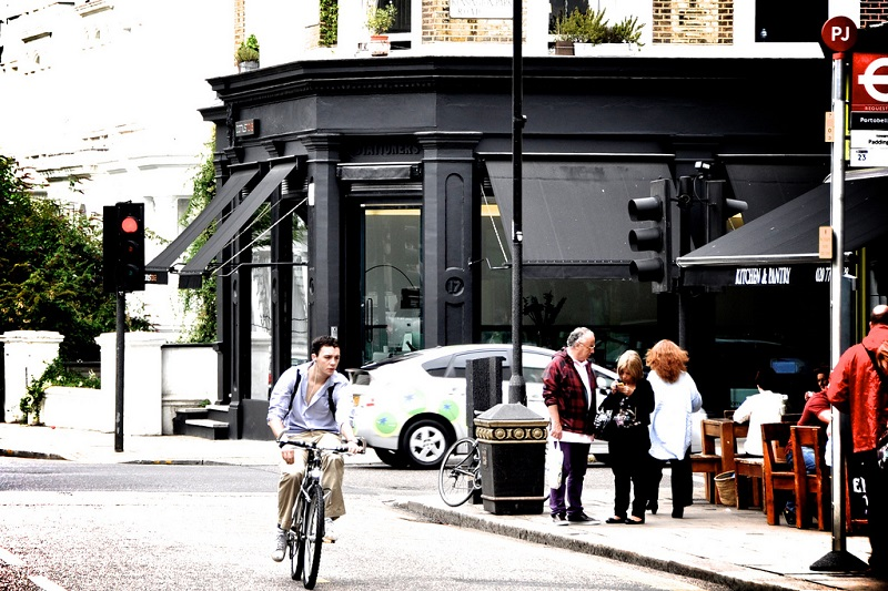 Notting Hill, best area to stay in London