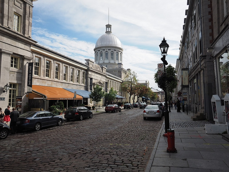 Old Montreal, best area to stay in Montreal