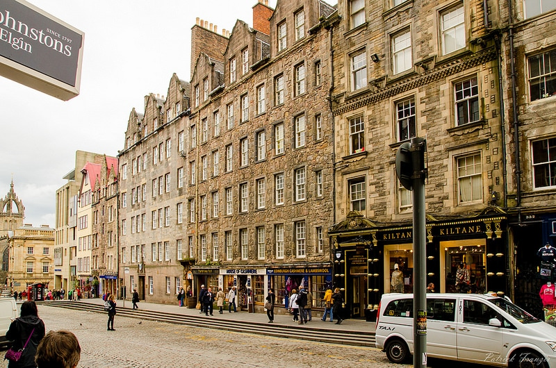 Old Town, best area to stay in Edinburgh