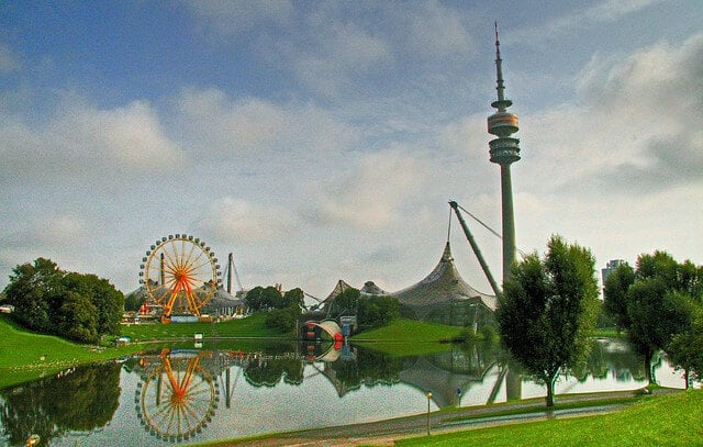 Olympic Park, TV Tower, best things to do in Munich