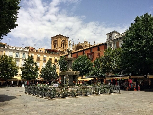 Plaza Bib Rambla, best things to do in Granada