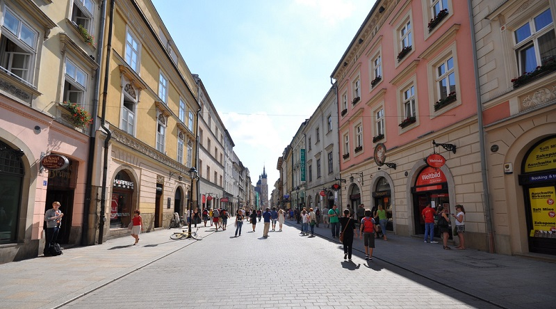 Stare Miasto, best area to stay in Krakow