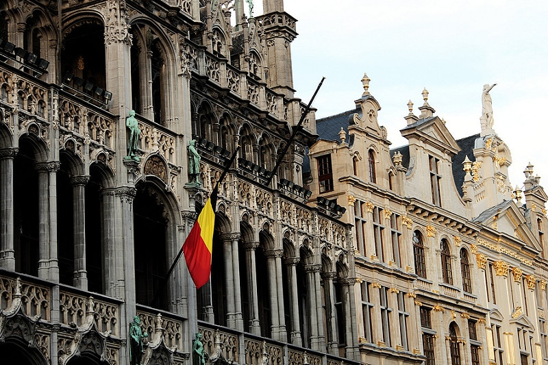 Old centre, best area to stay in Brussels
