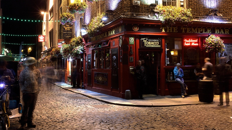 Temple Bar, best area to stay in Dublin