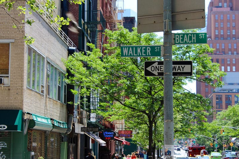 Tribeca, best area to stay in New York