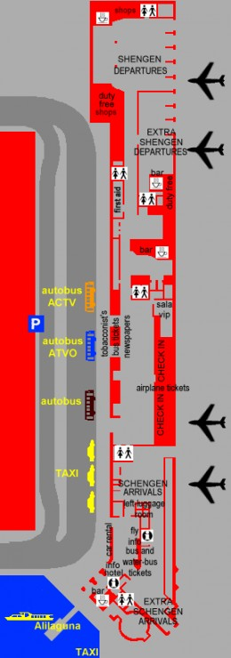 Transport Marco Polo airport Venice