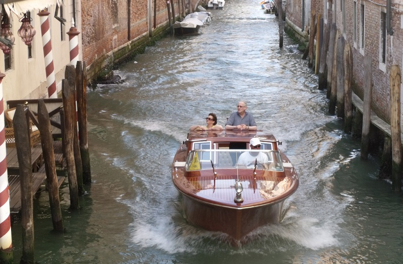 Water-taxi Venice