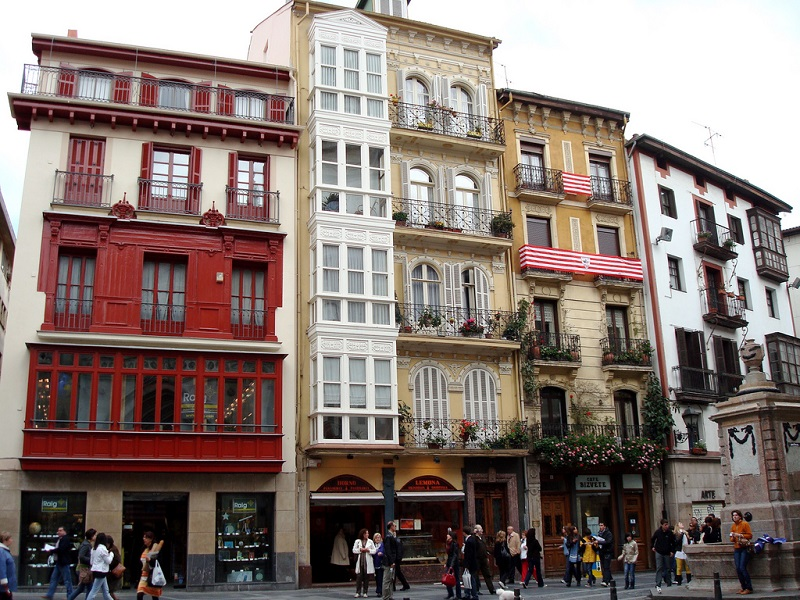 Casco Viejo, best area to stay in Bilbao