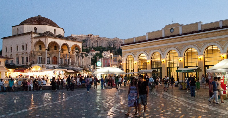 City Centre, best area to stay in Athens