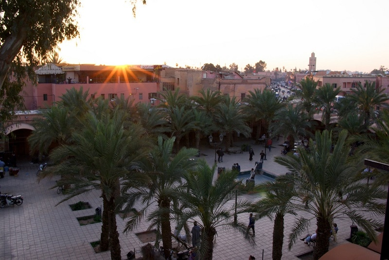 Medina, best area to stay in Marrakesh