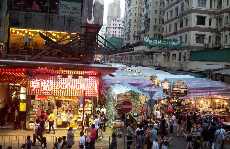 Mong Kok, best area to stay Hong-Kong