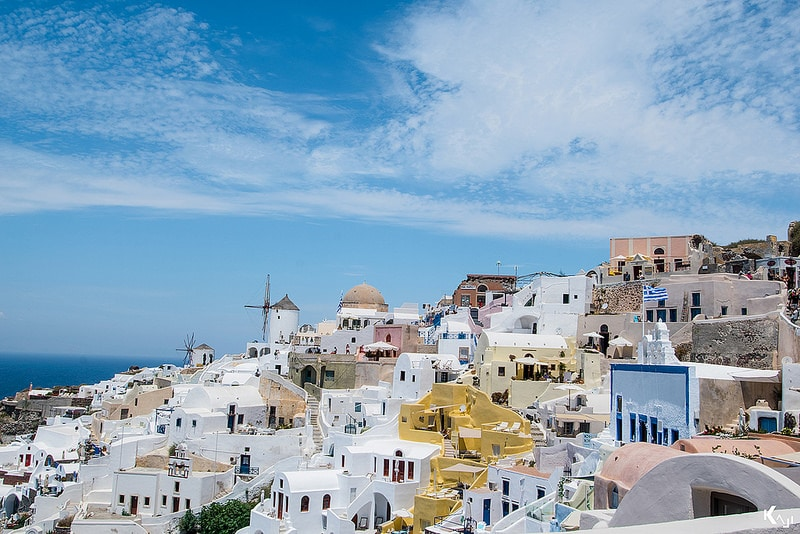 Oia, best area to stay in Santorini