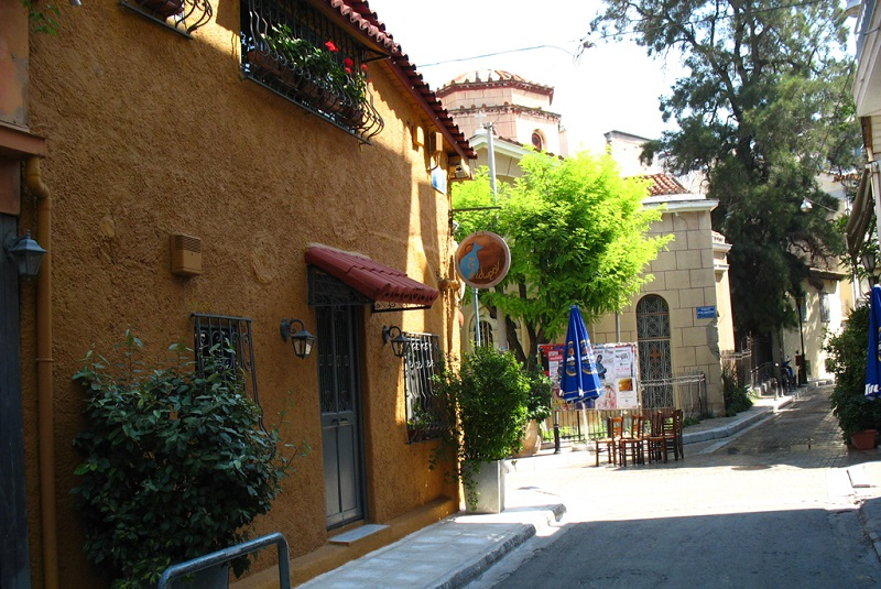 Psiri, best area to stay in Athens