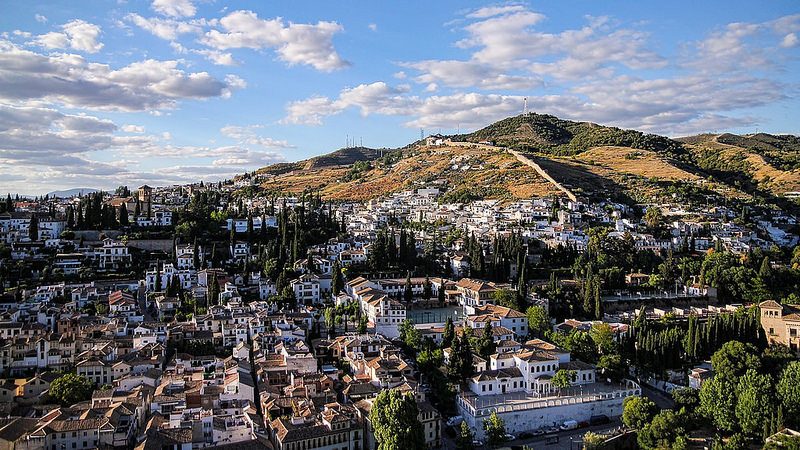 Sacromonte, best area to stay in Granada