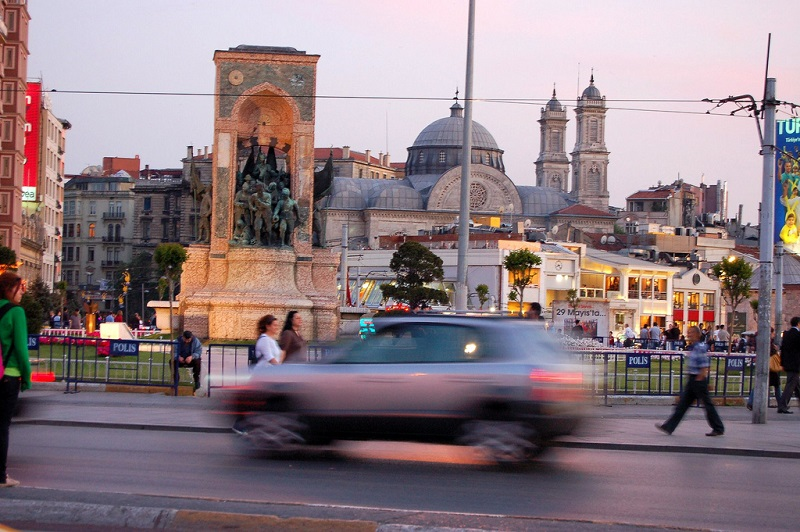Taksim, best area to stay in Istanbul