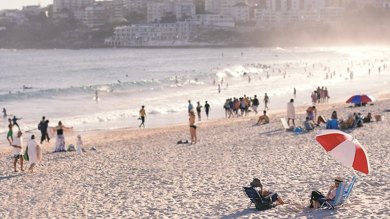 Bondi Beach, best area to stay in Sydney
