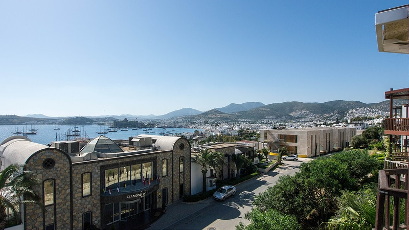 Centre, best area to stay in Bodrum