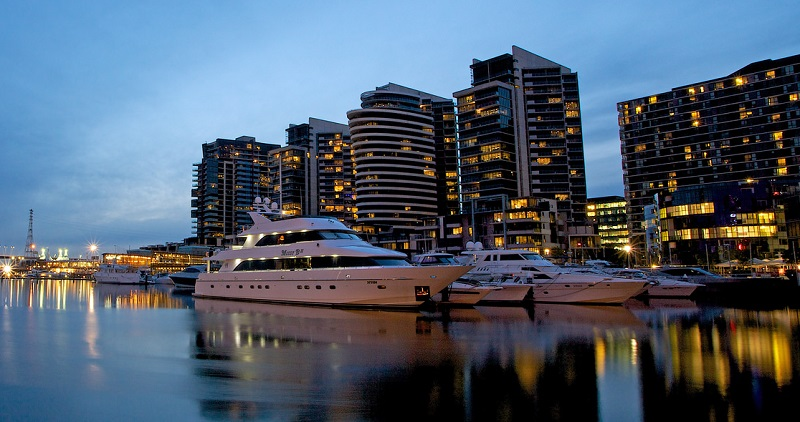 Docklands, best area to stay in Melbourne