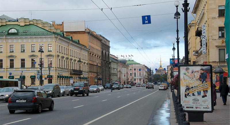 Historical centre, best area to stay in Saint-Petersburg