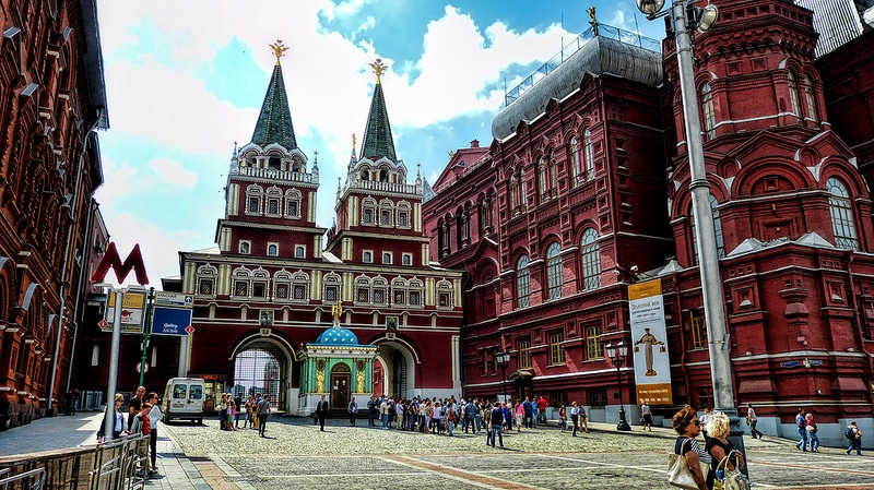 Kitai-Gorod, best area to stay in Moscow
