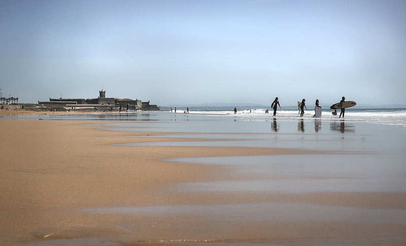 Lisbon beaches : Carcavelos