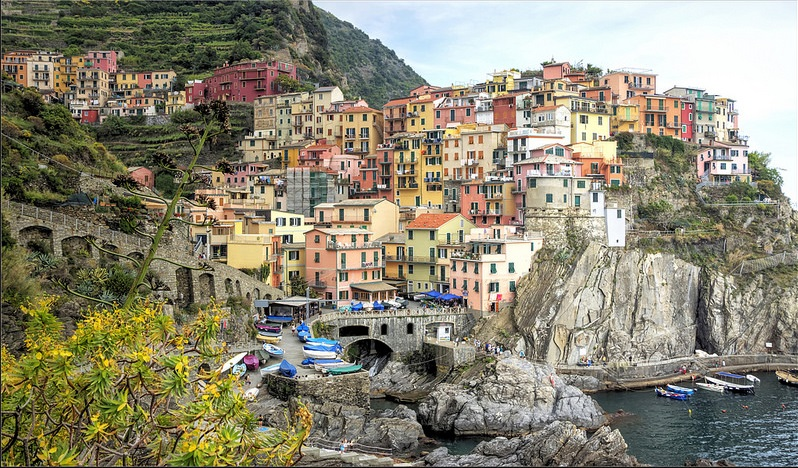 Manarola, best area to stay in Cinque Terre