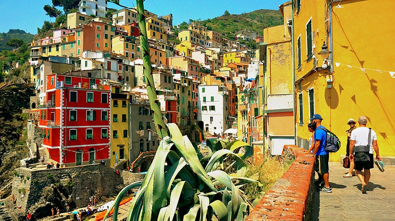 Riomaggiore, best area to stay in Cinque Terre