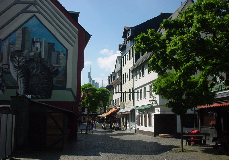 Sachsenhausen, best area to stay in Frankfurt