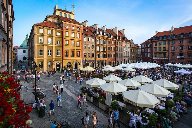Stare Miasto, best area to stay in Warsaw