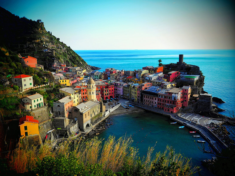 Vernazza, best area to stay in Cinque Terre