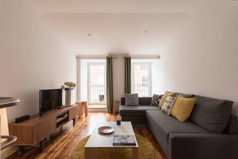 Airbnb in Lisbon, Principe Real