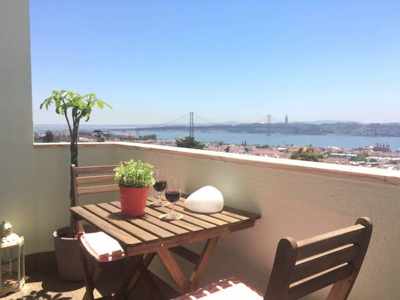 Airbnb in Lisbon, Tage