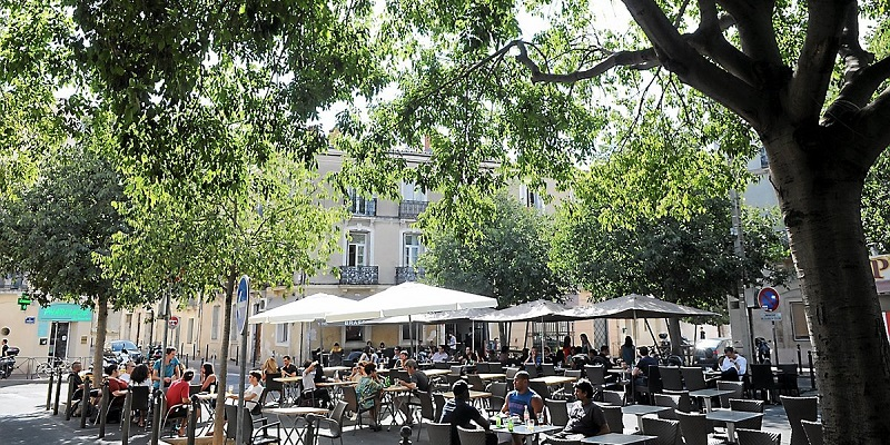 Les Beaux-Arts, best area to stay in Montpellier