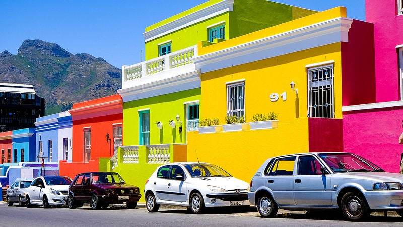 Bo Kaap, best area to stay in Cape Town