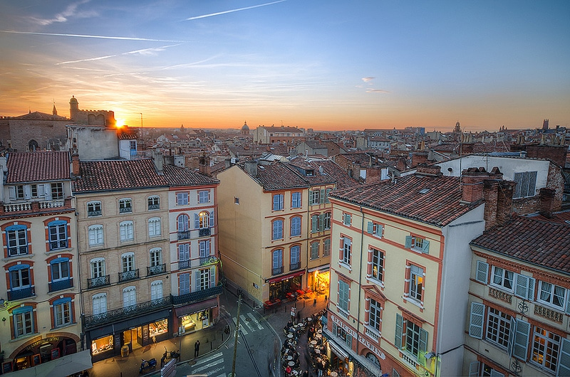 Carmes, best area to stay in Toulouse