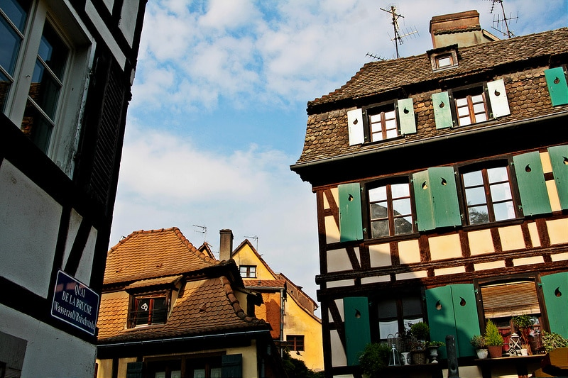 Grande île, best area to stay in Strasbourg