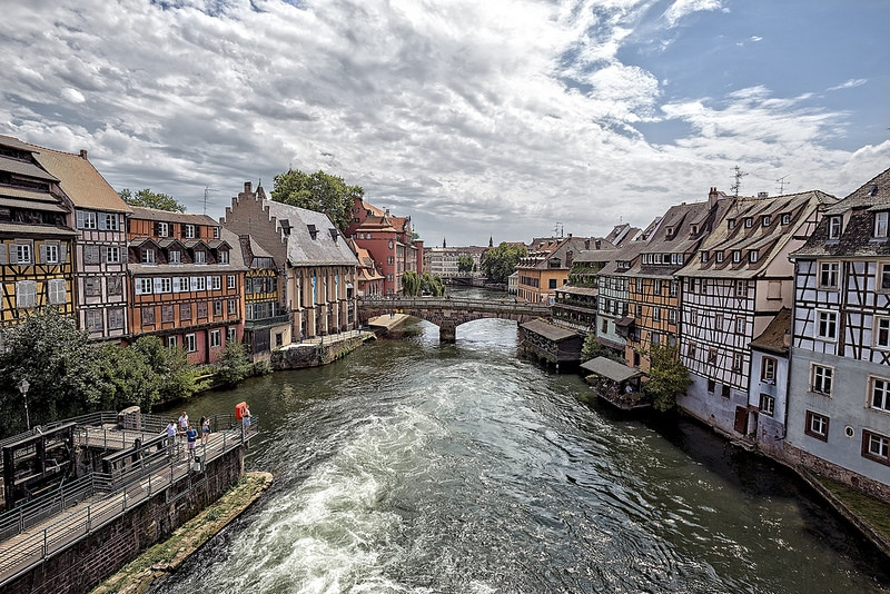 Petite France, best area to stay in Strasbourg