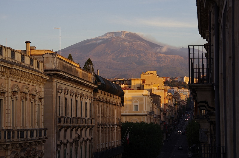 Via Etnea, best area to stay in Catania