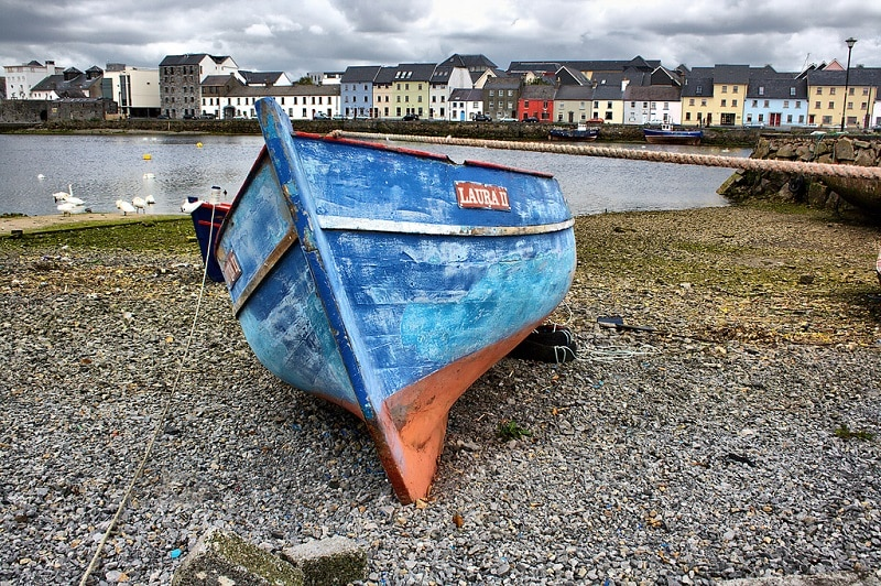 Claddagh, best area to stay in Galway
